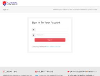 login.nationaldebtrelief.com screenshot