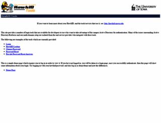 login.uiowa.edu screenshot