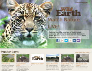 login.wildearth.tv screenshot