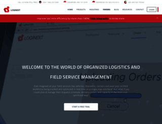 loginextsolutions.com screenshot