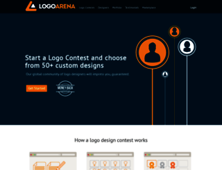 logoarena.com screenshot