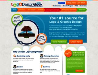 logodesigngeek.com screenshot