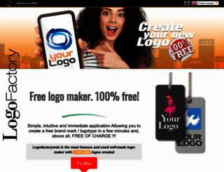 logofactoryweb.com screenshot