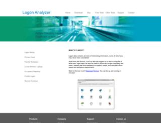 logonanalyzer.com screenshot