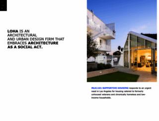 loharchitects.com screenshot