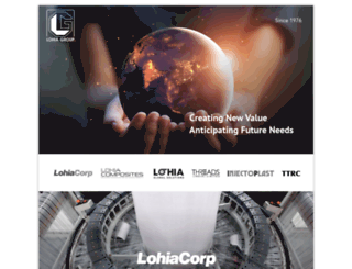 lohiagroup.com screenshot