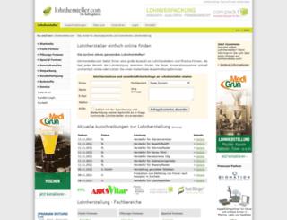 lohnhersteller.com screenshot
