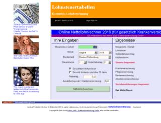 lohnsteuertabellen.com screenshot