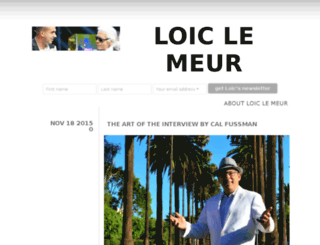 loiclemeur.com screenshot
