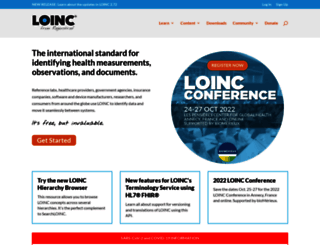 loinc.org screenshot