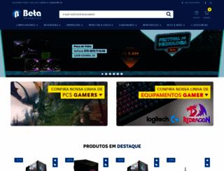 loja.betainformatica.com.br screenshot