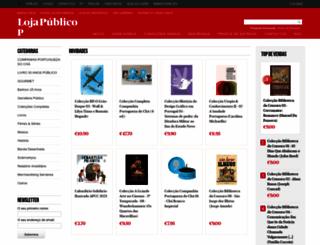loja.publico.pt screenshot