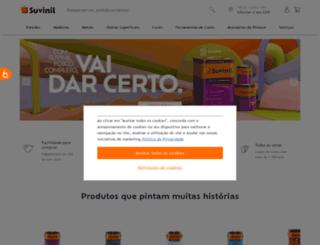 loja.suvinil.com.br screenshot