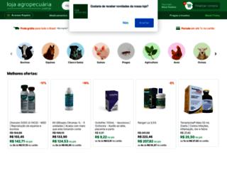 lojaagropecuaria.com.br screenshot