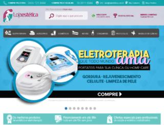 lojaestetica.com.br screenshot