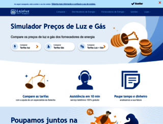 lojaluz.com screenshot