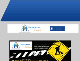 lojasimperialmoveis.com.br screenshot
