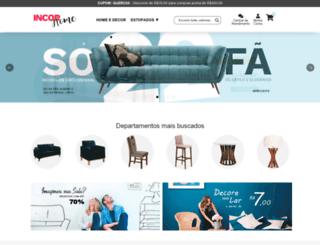 lojasincor.com.br screenshot