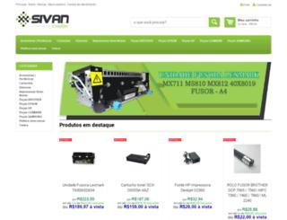lojavirtual.sivan.com.br screenshot