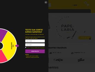 lojazonacriativa.com.br screenshot