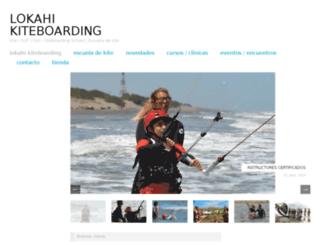 lokahi-kiteboarding.com.ar screenshot
