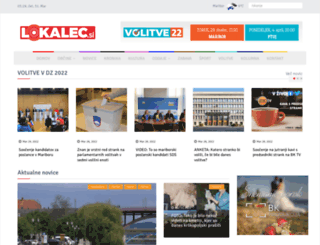 lokalec.si screenshot