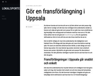 lokalsporten.se screenshot
