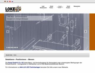 loke.de screenshot