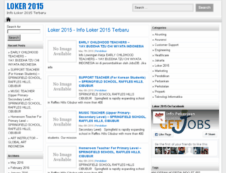 loker2015.org screenshot