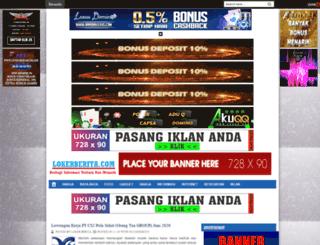 lokerberita.com screenshot