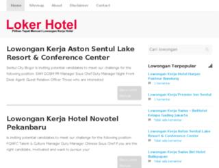 lokerhotel.xyz screenshot