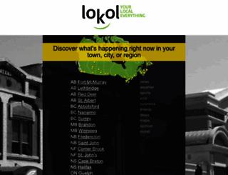 lokol.me screenshot