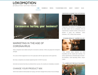lokomotion.com.au screenshot