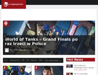 lol.cybersport.pl screenshot