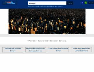 lomasdezamora.com screenshot