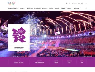 london2012.com screenshot