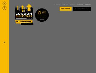 londonbuildexpo.com screenshot