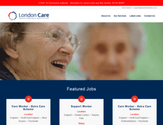 londoncare.co.uk screenshot