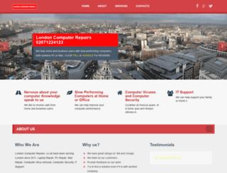 londoncomputerrepairs.co.uk screenshot