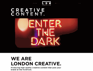 londoncreative.com screenshot