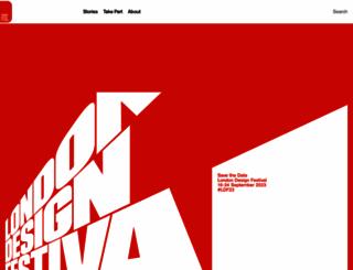 londondesignfestival.com screenshot