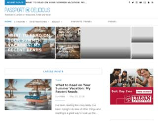 londonelicious.com screenshot