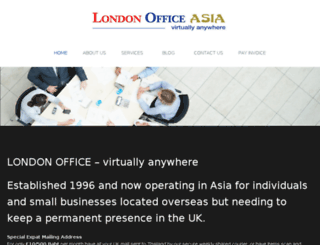 londonoffice.asia screenshot