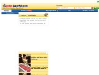 londonsuperads.com screenshot