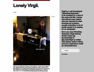 lonelyvirgil.net screenshot