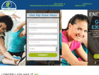 longfellowclubs.com screenshot