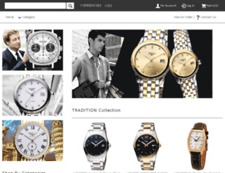 longineswatchesonline.com screenshot