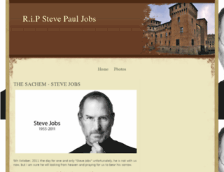 longlivestevejobs.webs.com screenshot