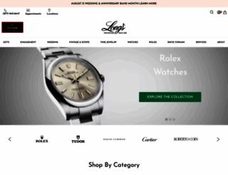 longsjewelers.com screenshot