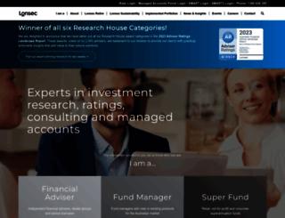 lonsec.com.au screenshot